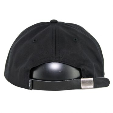 The Quiet Life Kenney Polo Strapback Hat Black