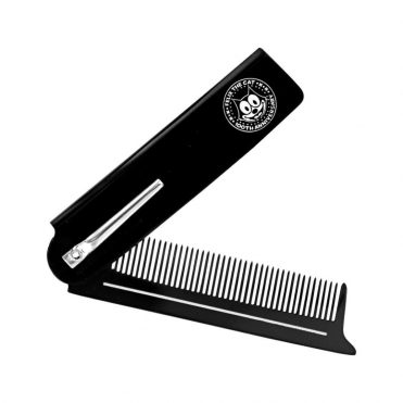 Suavecito x Felix The Cat Folding Comb Black
