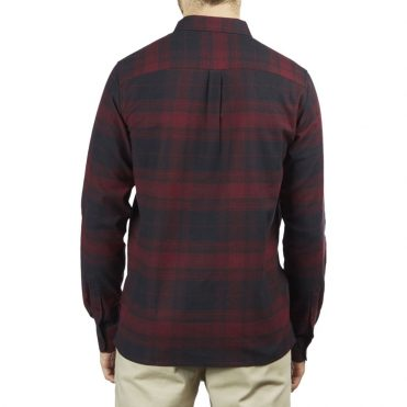 Dickies '67 Flex Flannel Shirt Burgundy Plaid
