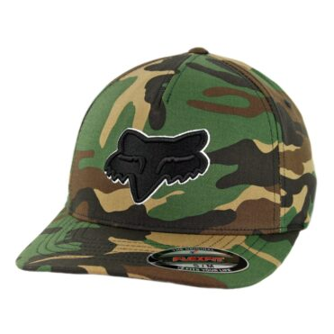 Fox Head Epicycle Flexfit Hat Green Camo