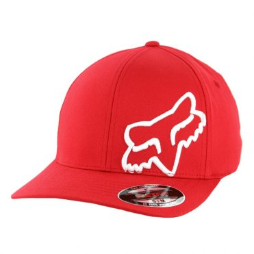 Fox Head Flex 45 Flexfit Hat Dark Red