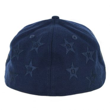HUF Classic H All Star New Era 59Fifty Fitted Hat Insignia Blue