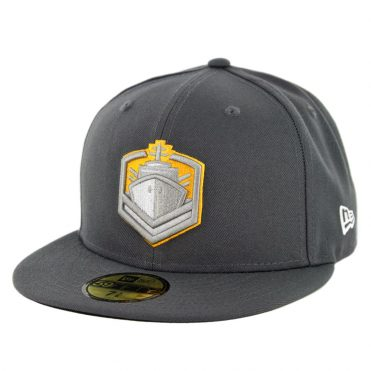 New Era 59Fifty San Diego Fleet Fitted Hat Graphite