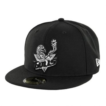 New Era 59fifty San Diego Gulls Muerto Fitted Hat Black