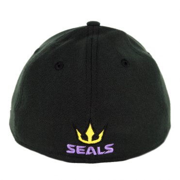 New Era 39Thirty San Diego Seals Stretch Fit Hat Black