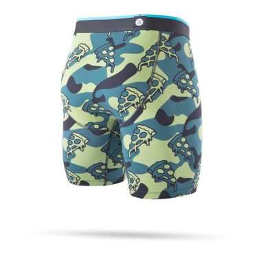 Stance Pizza War Boxer Brief Green