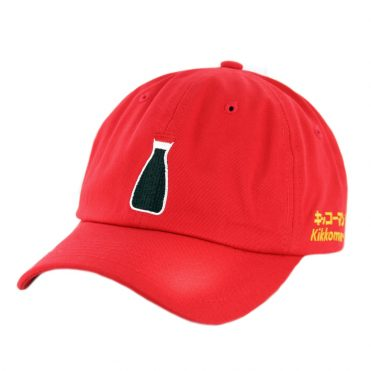 Primitive x Kikkoman Dad Strapback Hat Red
