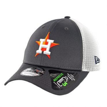 New Era 9Forty Houston Astros Repreve Snapback Hat Graphite