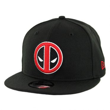 New Era 9Fifty Deadpool Snapback Hat Black