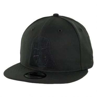 New Era 9Fifty Darth Vader Snapback Hat Blackout