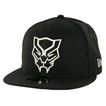 New Era 9Fifty Black Panther Snapback Hat Black
