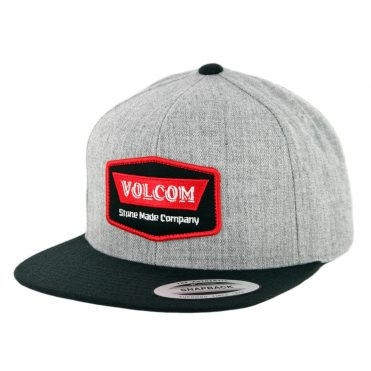 Volcom Cresticle Snapback Hat Red