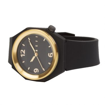 Neff Stripe Watch Black Gold