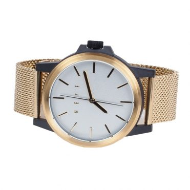 Neff Carbine Mesh Watch Gold White Black