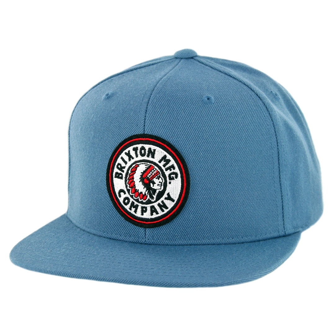 b59b726366ede Brixton Rival Snapback Hat Orion Blue - Billion Creation Streetwear