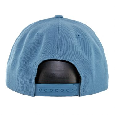 Brixton Rival Snapback Hat Orion Blue