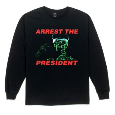 10 Deep Arrest The President Long Sleeve T-Shirt Black