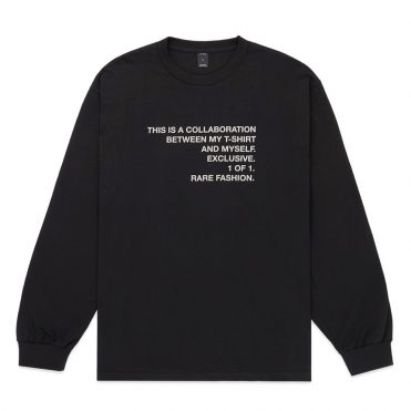 10 Deep Collab Long Sleeve T-Shirt Black