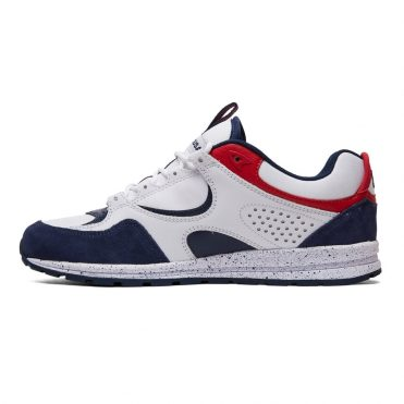 DC Kalis Lite SE Shoe White Red Blue