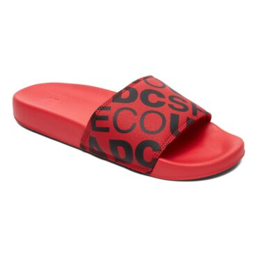 DC Slide SE Sliders Shoe Red Black
