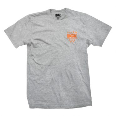 DGK No Time T-Shirt Athletic Heather