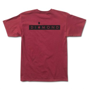 d9de35cb2 Diamond Supply Co Marquise T-Shirt Burgundy