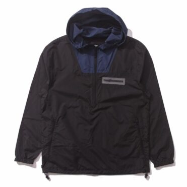 The Hundreds Hayworth Anorak Jacket Black