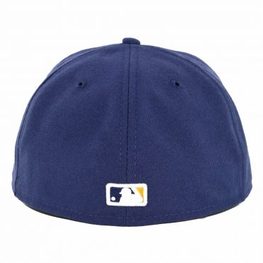 New Era 59Fifty Milwaukee Brewers 2019 Alternate 2 Authentic On-Field Fitted Hat Light Navy
