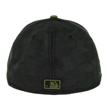 New Era 59Fifty Pittsburgh Pirates Alternate 3 Authentic On-Field Fitted Hat Black Army Green