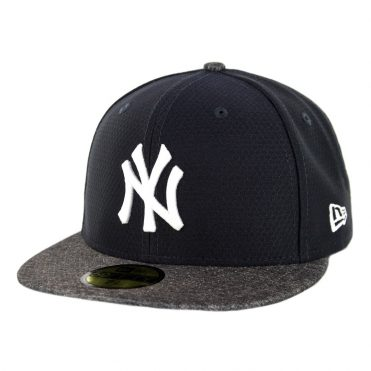 a225a6cc497 New Era 59Fifty New York Yankees Road Batting Practice 2019 Fitted Hat  Official Team Color ...