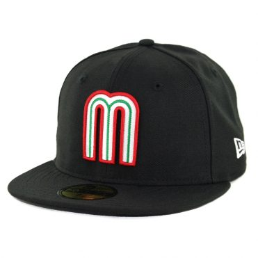New Era 59Fifty Mexico Baseball Fitted Hat Black