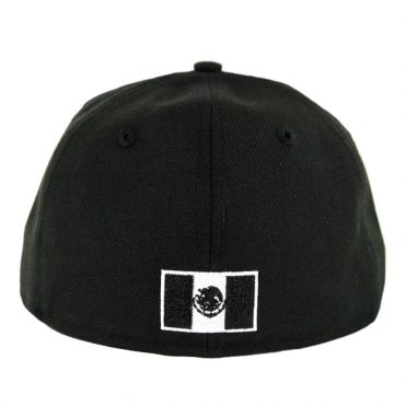 New Era 59Fifty Mexico Baseball Fitted Hat Black White