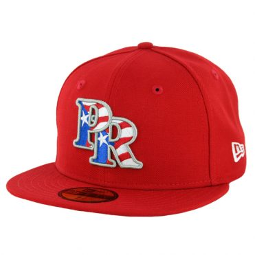 New Era 59Fifty Puerto Rico Fitted Hat Scarlet