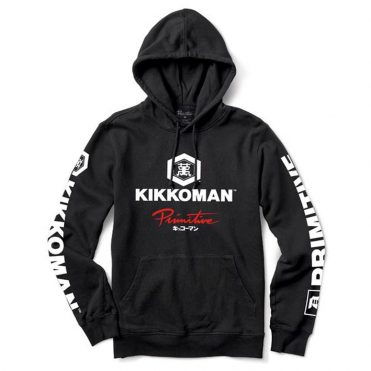 Primitive x Kikkoman Sauce Hooded Sweatshirt Black