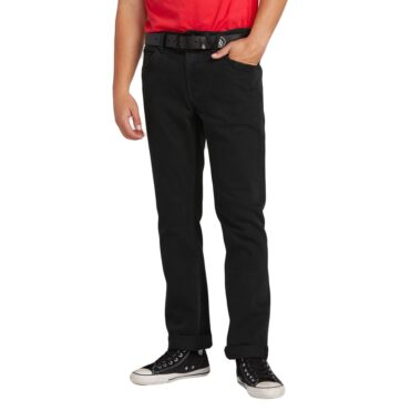 Volcom Solver Denim Pant Blackout