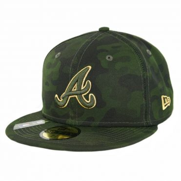 New Era 59Fifty Atlanta Braves Armed Forces Day 2019 Fitted Hat Camo