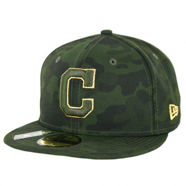New Era 59Fifty Cleveland Indians Armed Forces Day 2019 Fitted Hat Camo