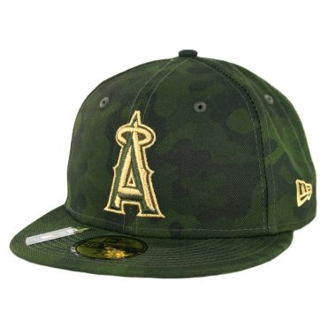 New Era 59Fifty Los Angeles Angels Armed Forces Day 2019 Fitted Hat Camo