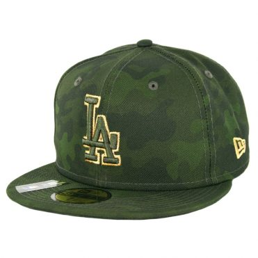 New Era 59Fifty Los Angeles Dodgers Armed Forces Day 2019 Fitted Hat Camo