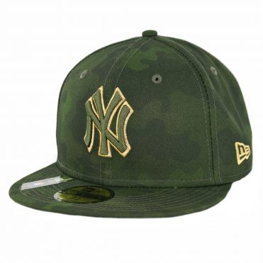 New Era 59Fifty New York Yankees Armed Forces Day 2019 Fitted Hat Camo