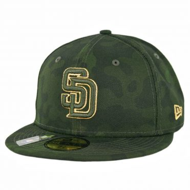 New Era 59Fifty San Diego Padres Armed Forces Day 2019 Fitted Hat Camo