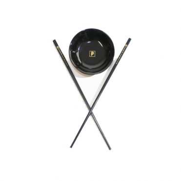 Primitive Sauce Dish and Chops Black