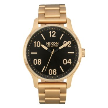 Nixon Patrol Watch Gold Black