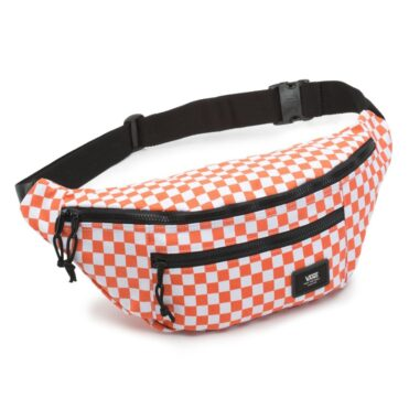 Vans Ward Cross Body Pack Emberglow Checkerboard