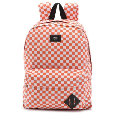 Vans Old Skool II Backpack Emberglow Checkerboard