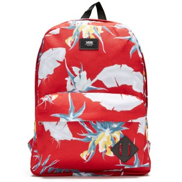 Vans Old Skool II Backpack Racing Red Arachnofloria