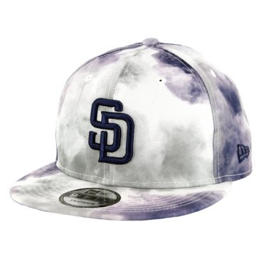 New Era 9Fifty San Diego Padres Color Disturb Snapback Hat Official Team Colors