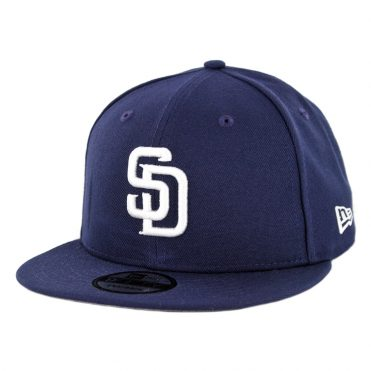 New Era 9Fifty San Diego Padres Home 50th Anniversary Snapback Hat Light Navy