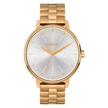 Nixon Kensington Watch Gold White