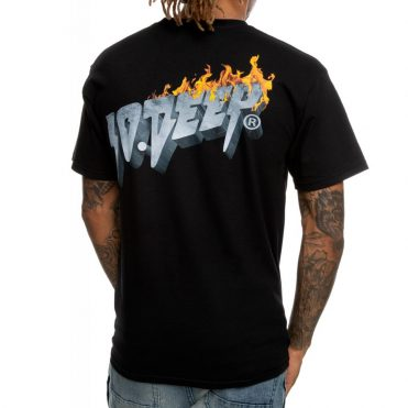 10 Deep Virtual World T-Shirt Black